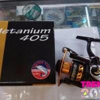 TERMURAH reel pancing golden fish metanium 405