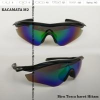 Kacamata Sepeda M2 Sunglass M2 Black Frame Kacamata Lensa Polarized 01