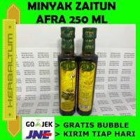 Ekstra Virgin Minyak Zaitun Afra - Bagus u/ Kolestrol, Asam Urat
