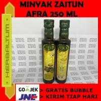 Minyak Zaitun Afra 250ml - BUBBLE WRAP GRATIS