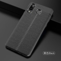 CASING SILICON SAMSUNG GALAXY A8, A9 STAR LEATHER SOFT BACK COVER CASE