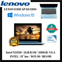 Lenovo Ideapad 120s-3TID Celeron N3350 HDD 500GB Windows 10 Resmi