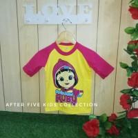 Kaos Anak Reglan Karakter Rainbow Ruby