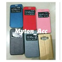 Flip Shell SAMSUNG GRAND 2 G7102 G7106 Cover Case Sarung HP Buka Tutup
