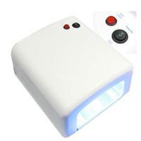 UV Lamp Gel Curing JD 818 Pengering Kutek Gel/ Lem Uv Loca 36 Watt