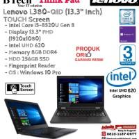 "Lenovo L380-QID (13.3"" Inch) Thinkpad 8GB/256GB SSD/Intel UHD/Win10Pro"