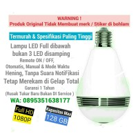 Panoramic Bulb Camera WiFi 2.0 MP 1080P HD