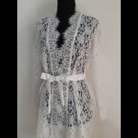 Bridal Robe Lace / Kimono Wedding