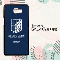 Casing Samsung Galaxy J7 Prime HP Attack On Titan O0049