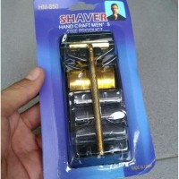 jual Cukur Manual Shaver Alat Cukur Kumis manual Set 2in1