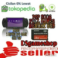 PSP 3006 PAKET MEMORY CARD 8GB FULL GAMES