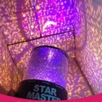 Jual Lampu Tidur Proyektor Star Master Bulan Bintang No Musik/Putar-HAP025 Murah