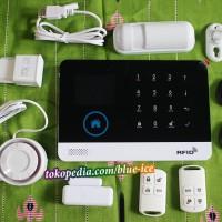 alarm gsm 433 mhz wifi support app android mudah digunakan dan setting