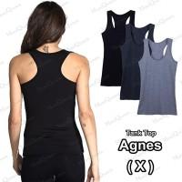 [X] Tank Top Model Agnes / Tali X - Singlet / Kaos Dalam Wanita