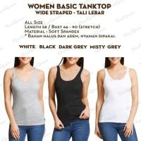 [US] Tank Top Tali Besar / Tali U - Singlet / Kaos Dalam Wanita