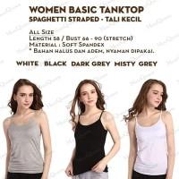 [LS] Tank Top Tali Kecil / Tali L - Singlet / Kaos Dalam Wanita