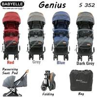 Harga babyelle genius stroller reversible cabin size stroller | Pembandingharga.com