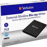 Verbatim External Slimline USB 3.0 Blu-ray / BLuray Writer - Blueray