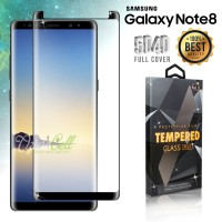 Tempered Glass SAMSUNG Galaxy Note 8 Black 3D Full Cover Fit Case