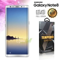 Tempered Glass SAMSUNG Galaxy Note 8 White 3D Full Cover - Glass Pro
