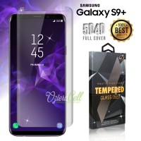 Tempered Glass SAMSUNG Galaxy S9 Plus 3D Clear Full Cover Fit Case