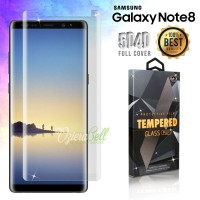 Tempered Glass SAMSUNG Galaxy Note 8 Clear 3D Full Cover Fit Case