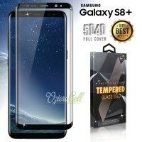 Tempered Glass SAMSUNG Galaxy S8 Plus Black 3D Full Cover -  Glass Pro