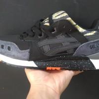 Sepatu Asics Gel Lyte lll Black tiger Camo -Premium Quality