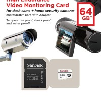 SANDISK MICRO SD / MICROSD CARD 64GB HIGH ENDURANCE VIDEO MONITORING