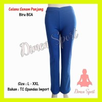 Celana Senam Panjang Polos | Olahraga | Gym | Fitnes | Dimen Shop