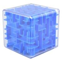 3D Maze Labyrinth Speed Puzzle Cube - Blue