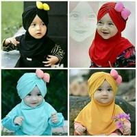 Jilbab anak usia 0-3tahun