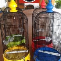 Sangkar Kandang Lovebird Radja Raja Fullset PVC