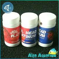 JDL HEAD PLATINUM Spesialis Jenong Ikan Louhan Lohan Pelet Pakan Boom