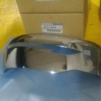 nissan np300 navara new cover spion chrome sen / tanpa lubang Original