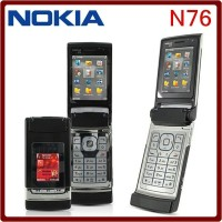 HP Nokia N76 Original Refurbish Flip Phone 3G