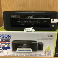 Printer Epson L405 Wireless WiFi Multifungsi (Print, Scan, Copy)