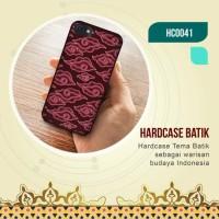 Softcase Handphone Custom Motif Batik Nusantara