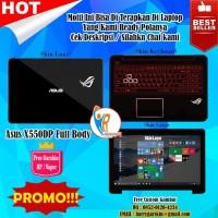 jual Original Garskin Laptop Full Body Asus X550ZE Motif ROG Zephyrus