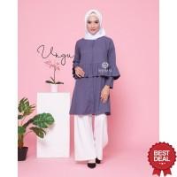 Baju Dress Wanita Muslim Shamal - Afifah Tunik