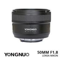 Neo Lensa Yongnuo YN 50mm F18 N Lens For Nikon