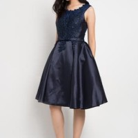 The Pink Label Lace Dirndl Dress bridesmaid exclusive