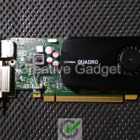 Nvidia Quadro K600 Kepler - utk PC SFF / Slim - VGA Workstation 1 GB