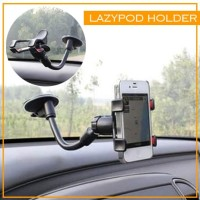 Lazypod Lazy Pod Car Phone Holder For Smartphone HP Model Panjang