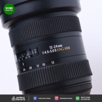 [SECONDHAND] Sigma for Canon 12-24mm DG HSM - 73 @Gudang Kamera Malang