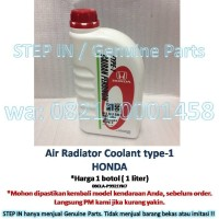 Harga air cairan pendingin honda premix radiator coolant genuine | antitipu.com