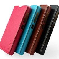 TERBARU Leather Flip Case Pudini Rui - Nokia X