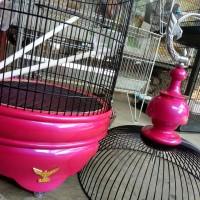 Kandang lovebird radja pink (khusus gojeg)
