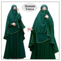 Gamis Syari Hanum Tosca plus Niqab/Cadar