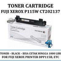 Toner Printer Fuji Xerox P115W CT202137 Original - Kami Dealer Resmi